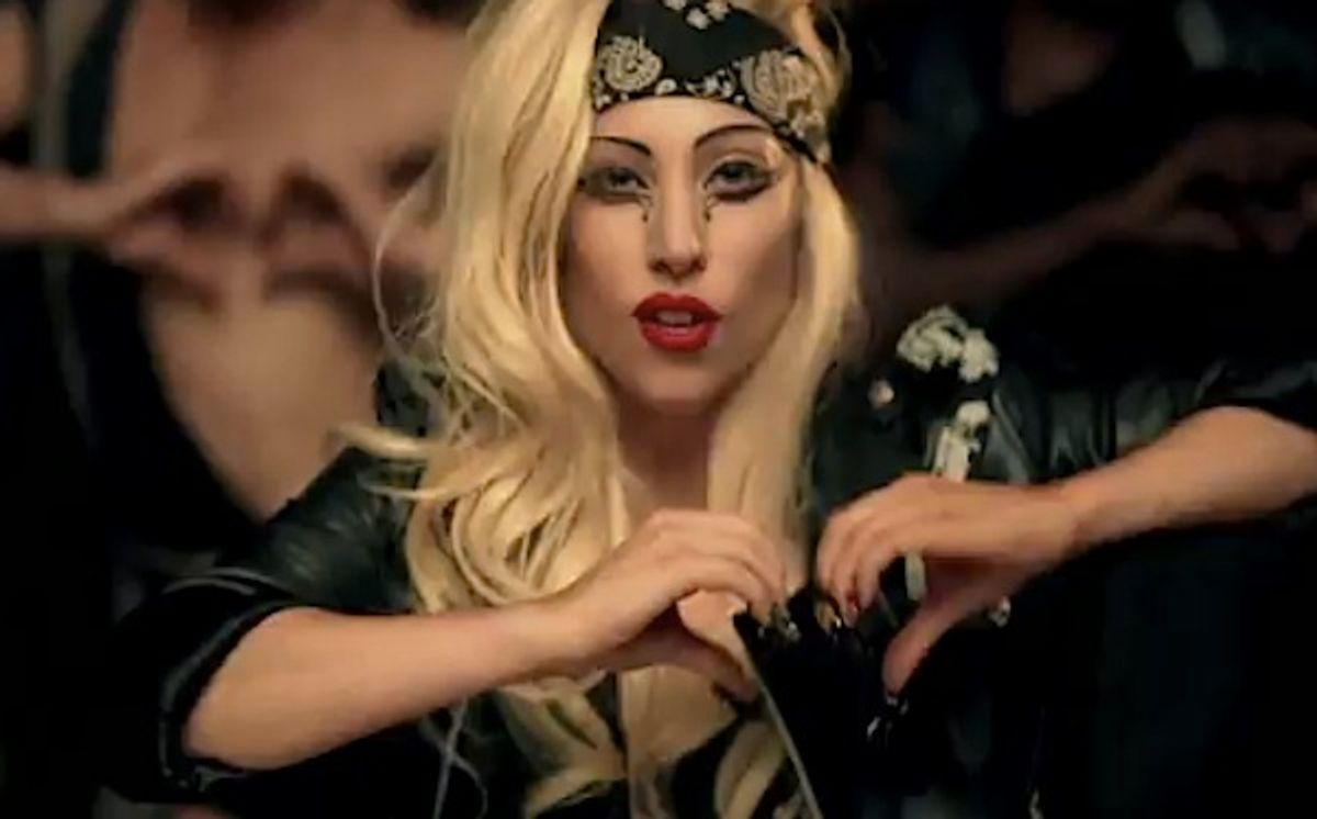 """Gaga is """"anti-Christian,"""" but only when traveling abroad."""
