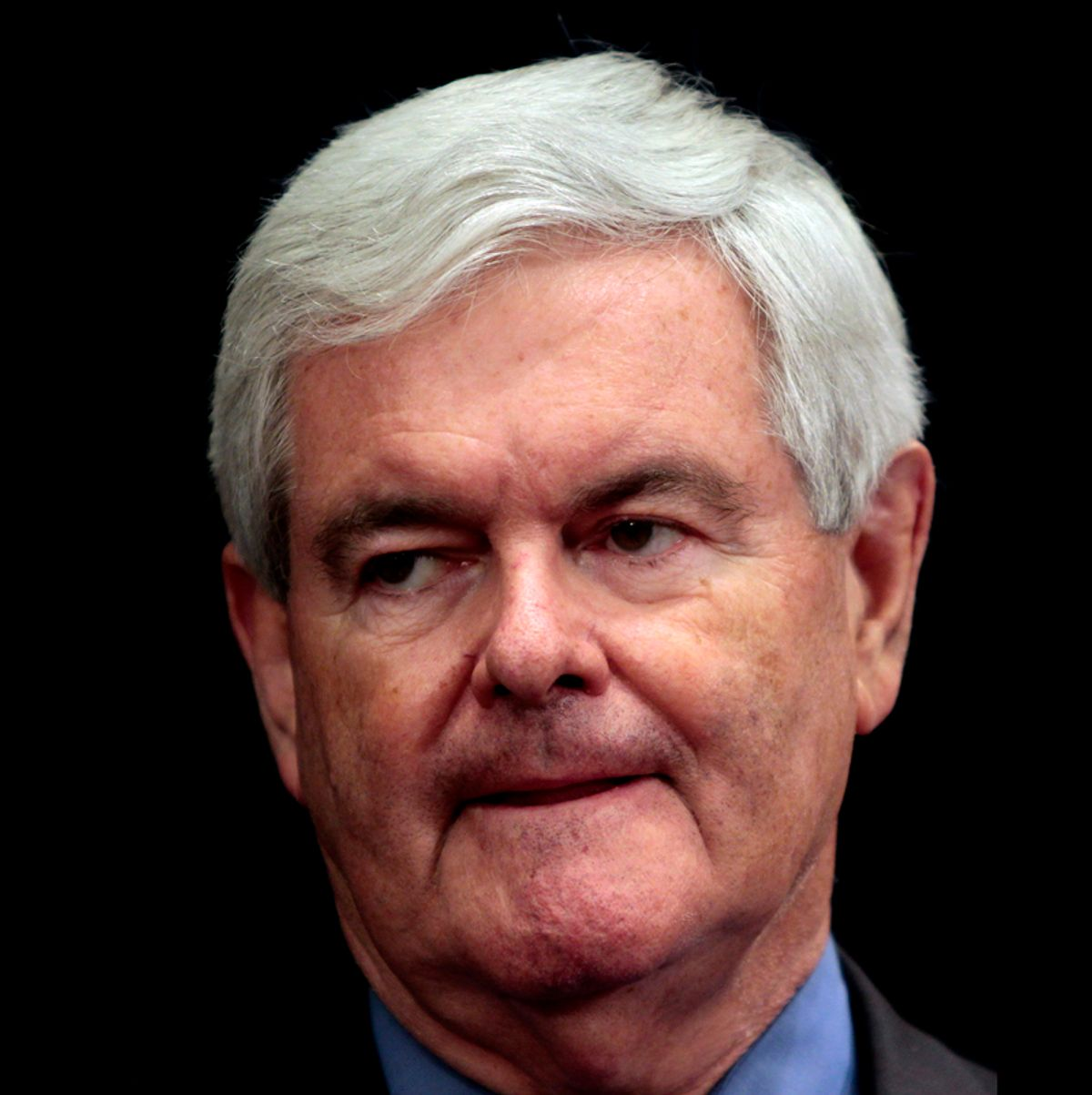 Former House Speaker Newt Gingrich, R-Ga., speaks during a news conference in the Governor's office Thursday March 3, 2011 in Atlanta.  Gingrich said he is launching a website to explore a run for president.(AP Photo/John Bazemore) (John Bazemore)