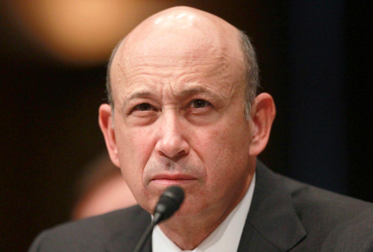 Goldman Sachs CEO Lloyd Blankfein      (Jason Reed / Reuters)