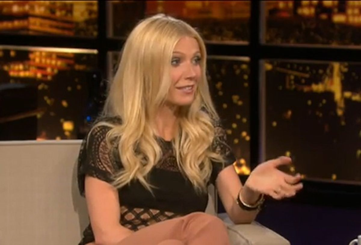 Gwyneth Paltrow thinks you need to drop some pounds.