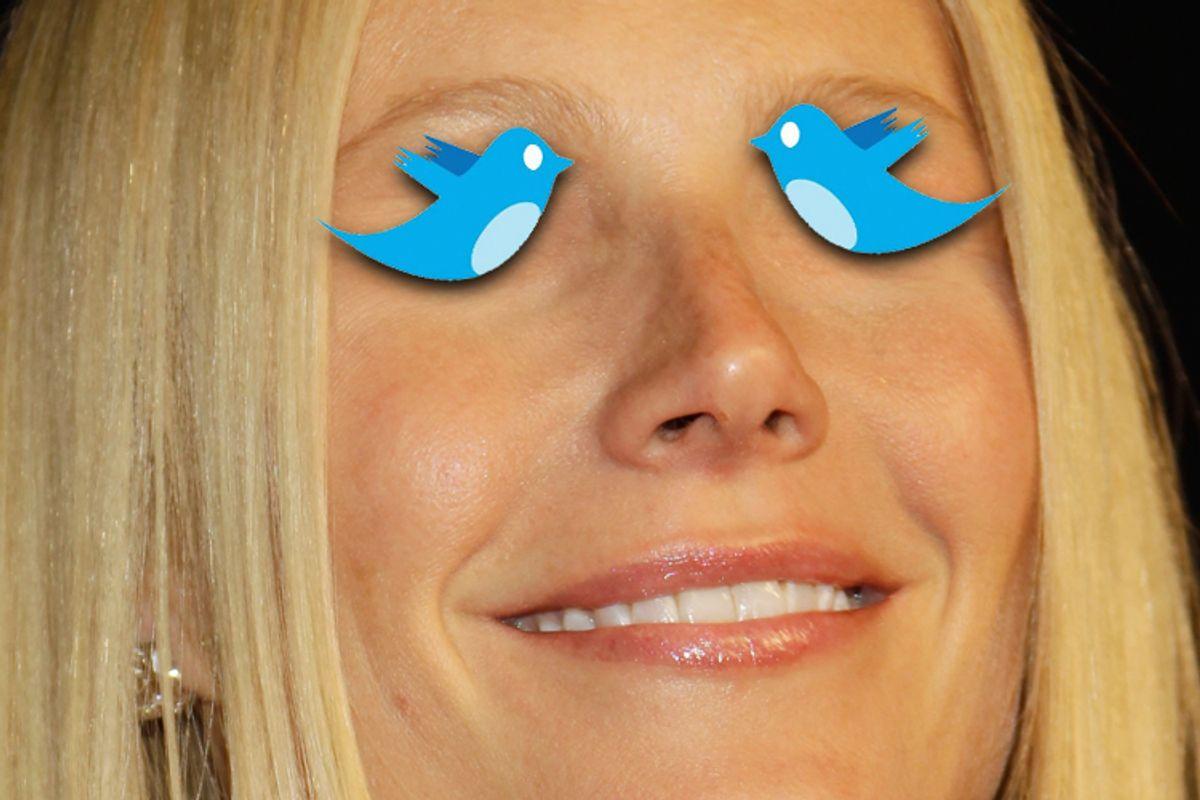 Gwyneth sets her sites on social media.