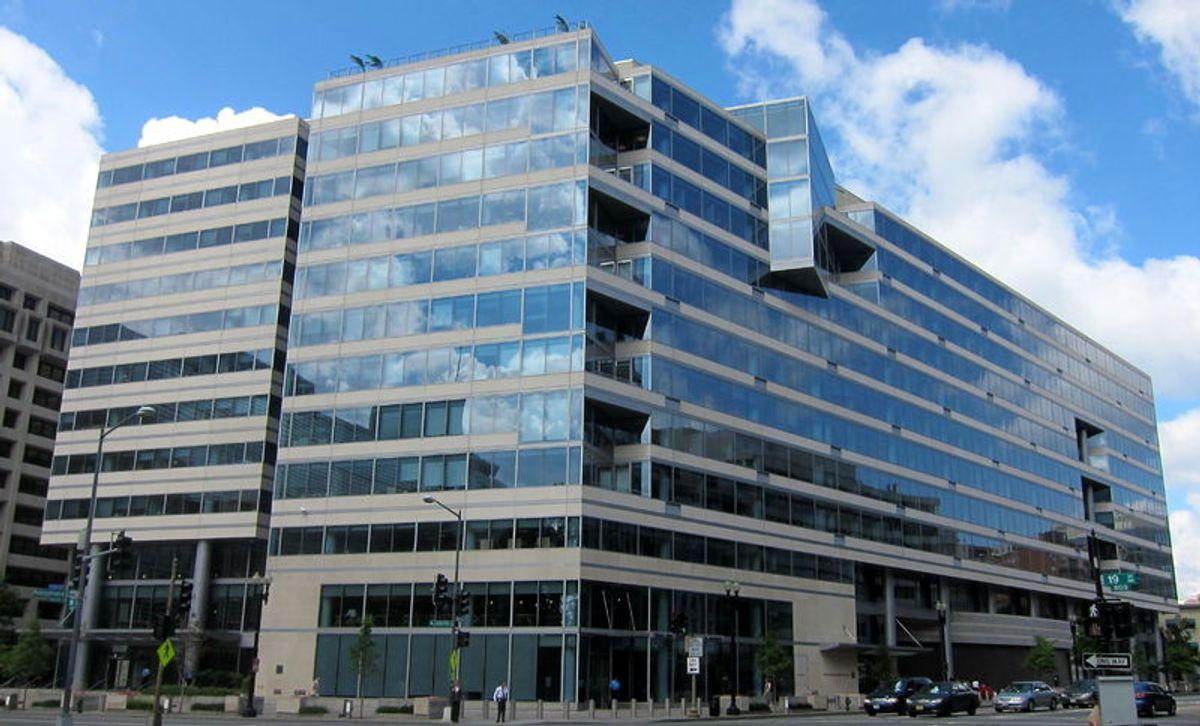 IMF headquarters in Washington, D.C.
