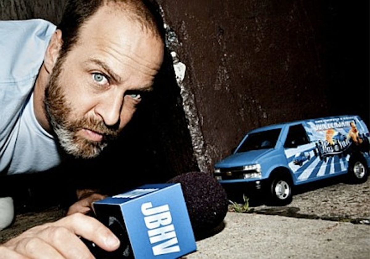 Jon Benjamin's van.