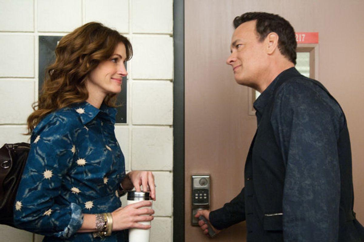 "Julia Roberts and Tom Hanks in ""Larry Crowne"""