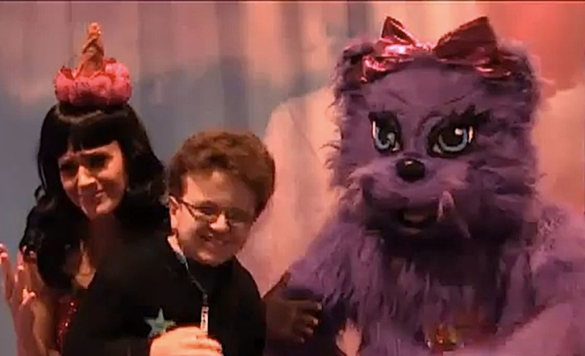 Katy Perry and YouTube star Keenan Cahill.
