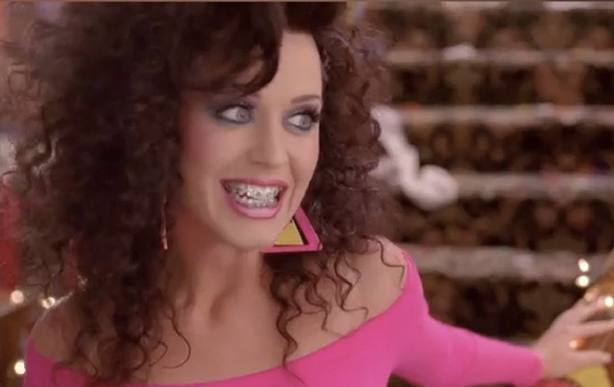 """Katy Perry's alter ego parties in """"Last Friday Night."""""""