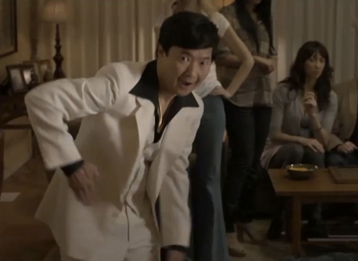 """Ken Jeong is """"Stayin' Alive."""""""