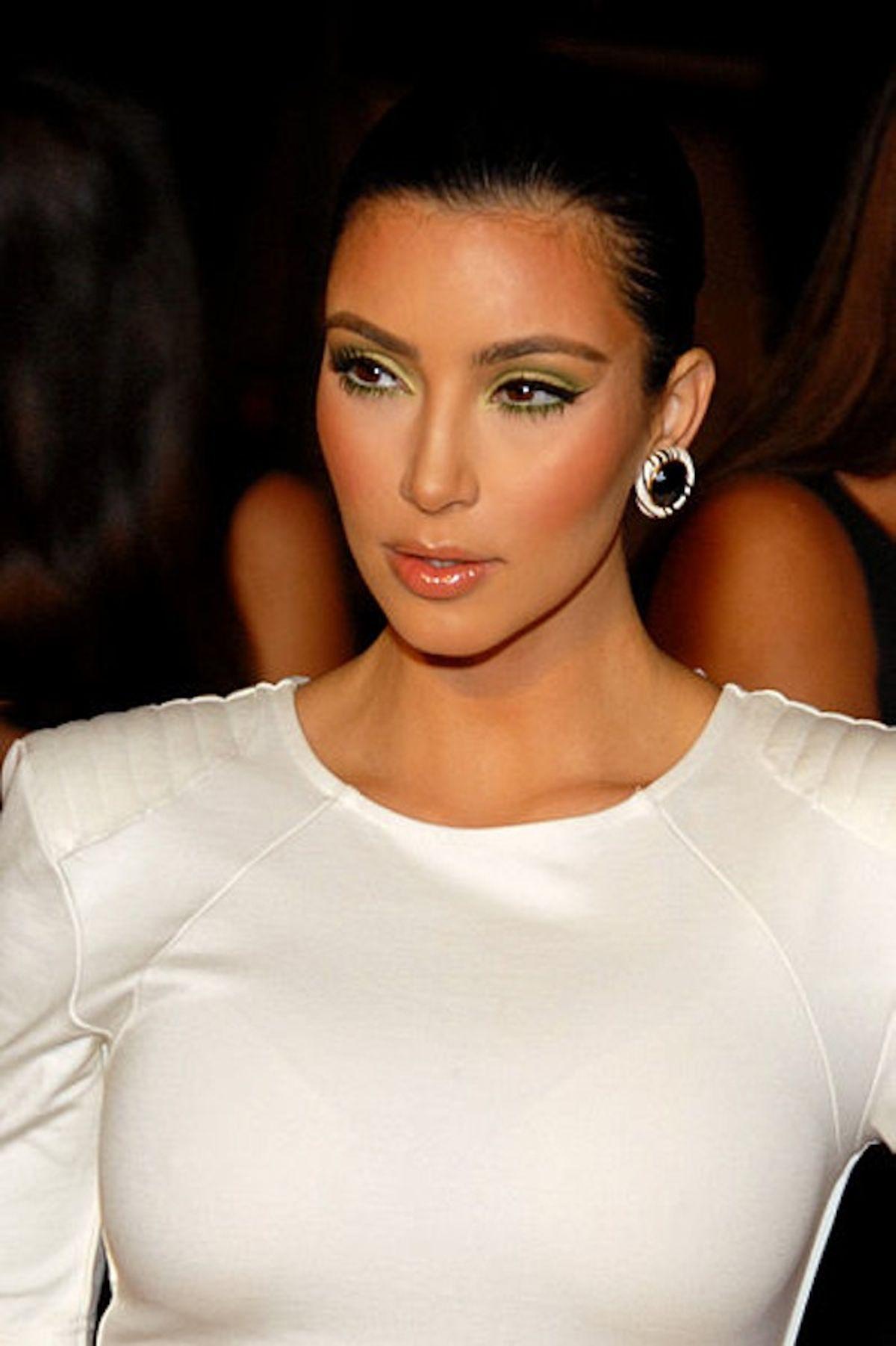 Kim Kardashian embroiled in a sex scandal.