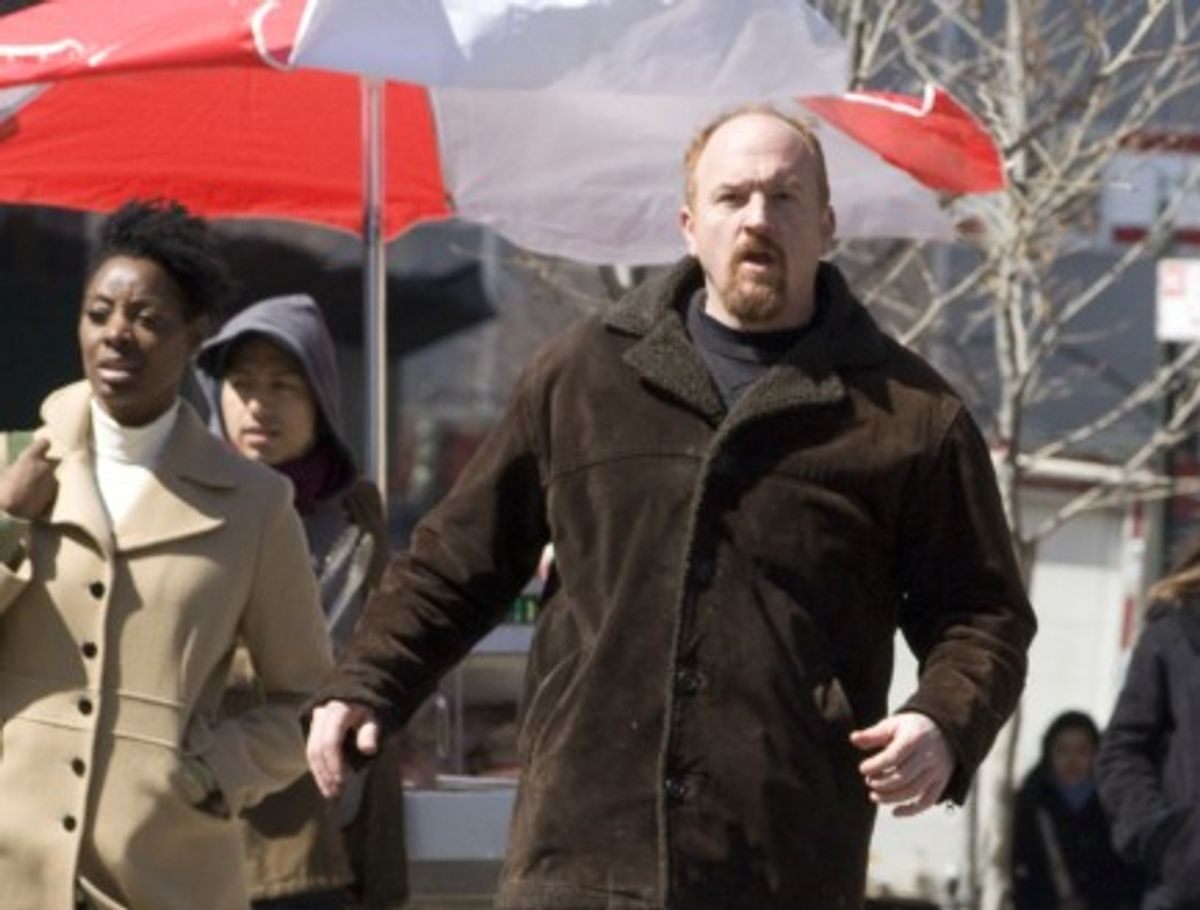 Louie (Louis C.K.) doesn't go looking for trouble, but it always finds him.