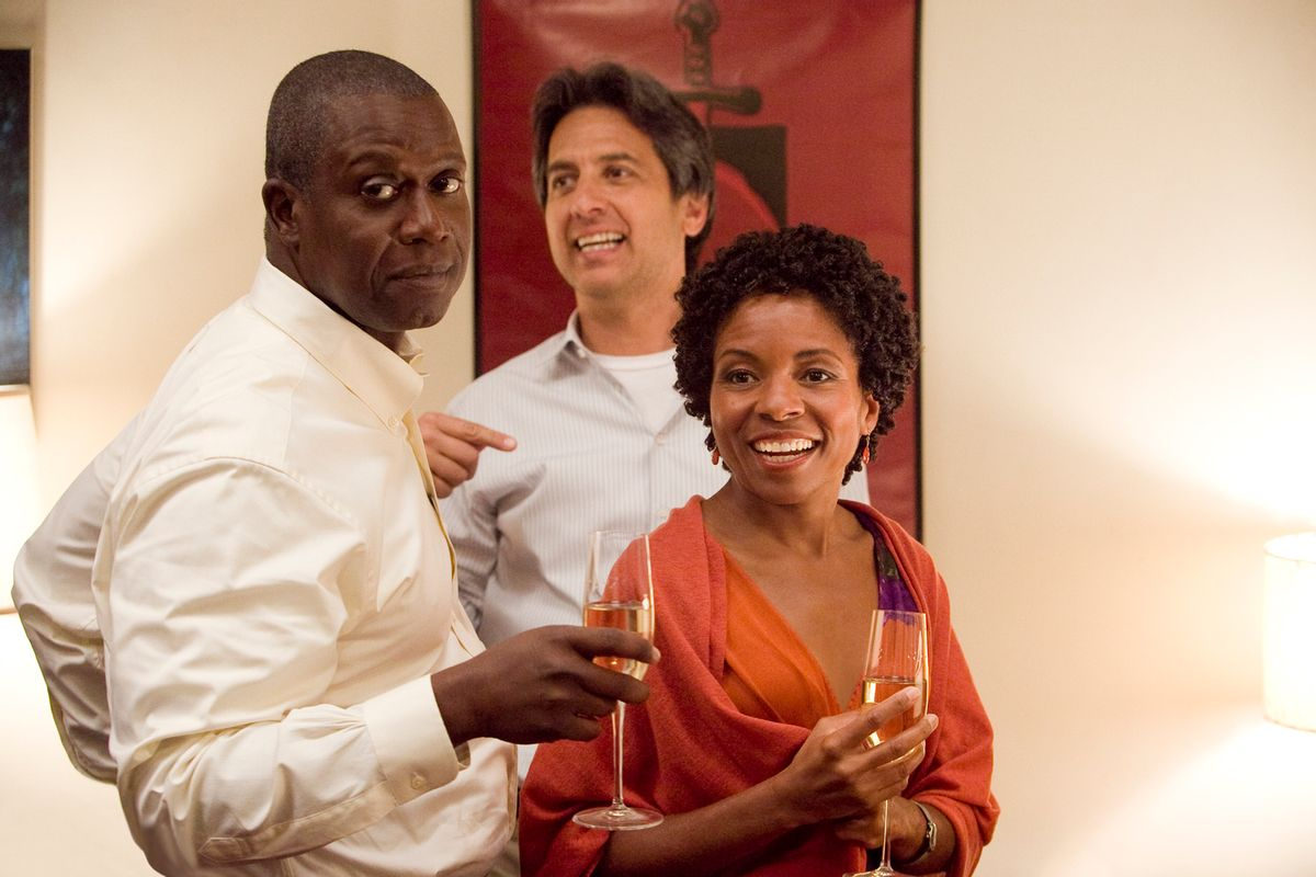 """Andre Braugher, Ray Romano and LisaGay Hamilton on TNT's """"Men of a Certain Age."""""""