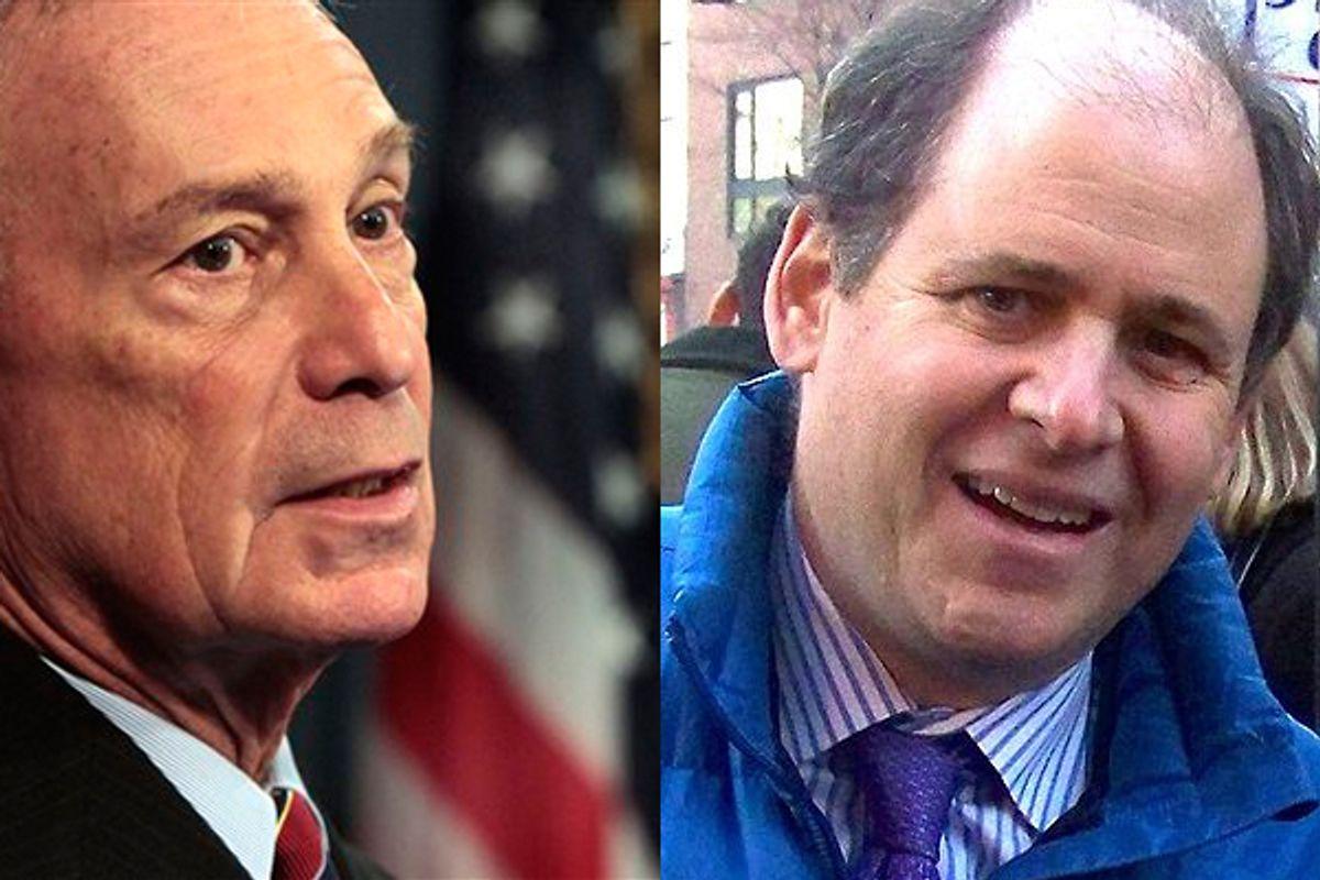 Michael Bloomberg and Jonathan Alter