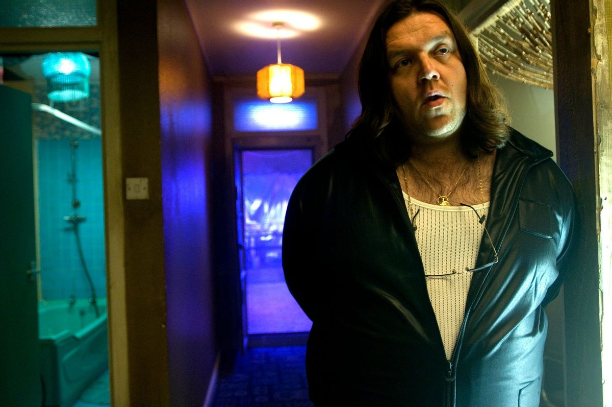 """Nick Frost in """"Attack the Block"""""""