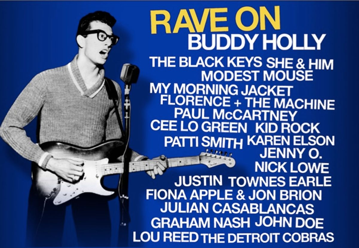 Rave On: a tribute to Buddy Holly.
