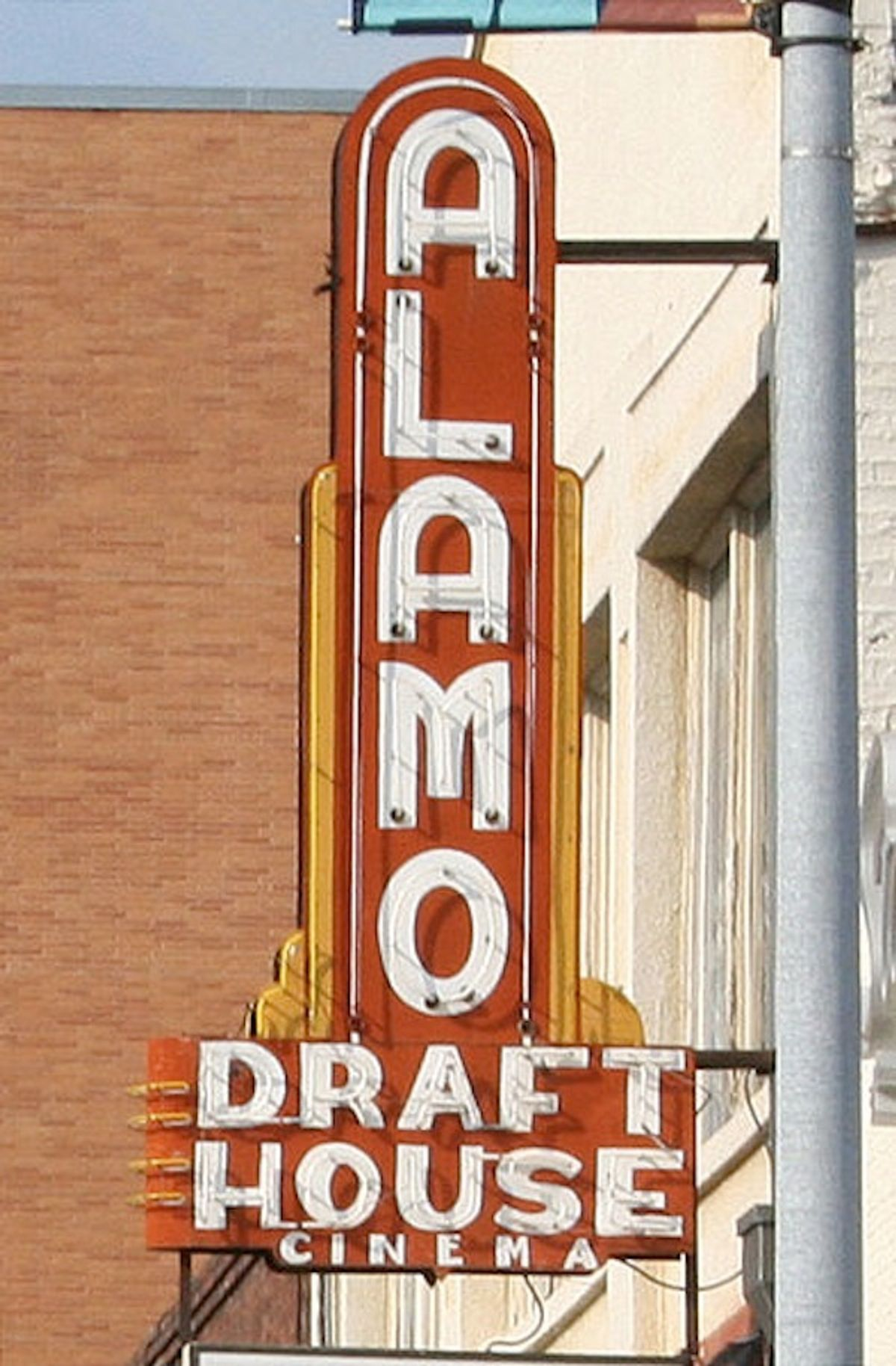 Remember the Alamo ... and its cinema's policy regarding text messaging.