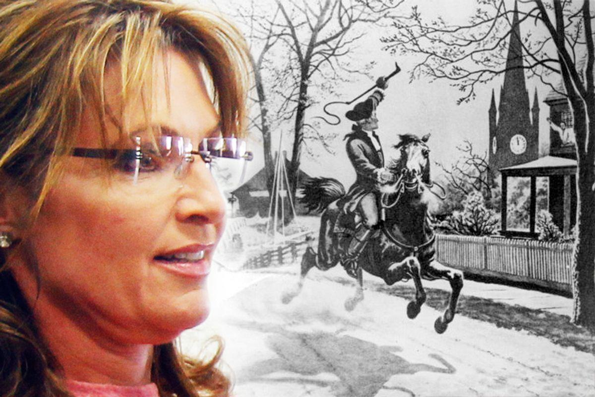 Sarah Palin and Paul Revere