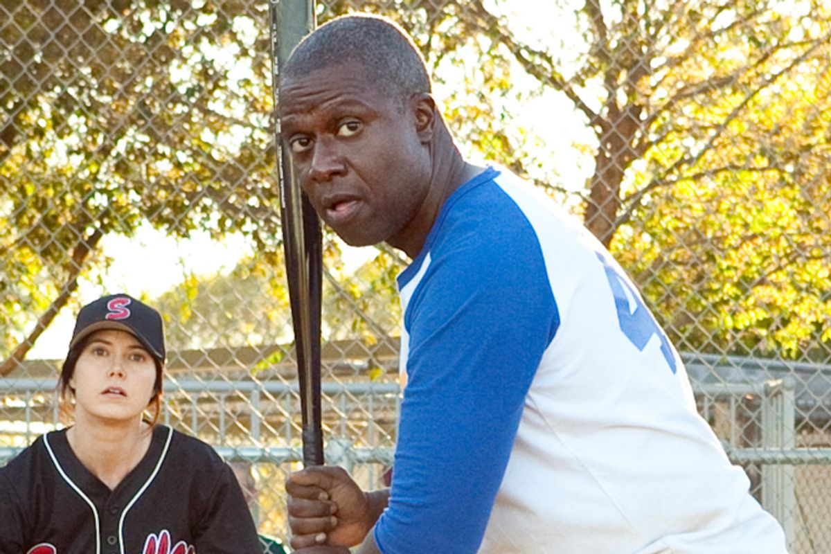 """Swi-i-i-i-ing, batter! On TNT's """"Men of a Certain Age,"""" Andre Braugher knocks his performance out of the park."""