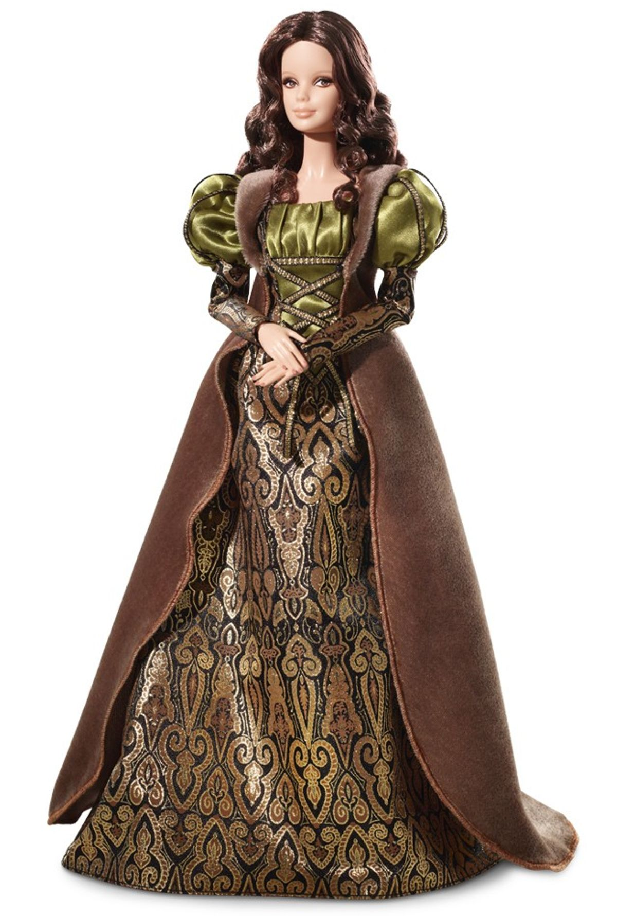 """The Mona Lisa doll from Barbie's """"Museum Collection."""""""