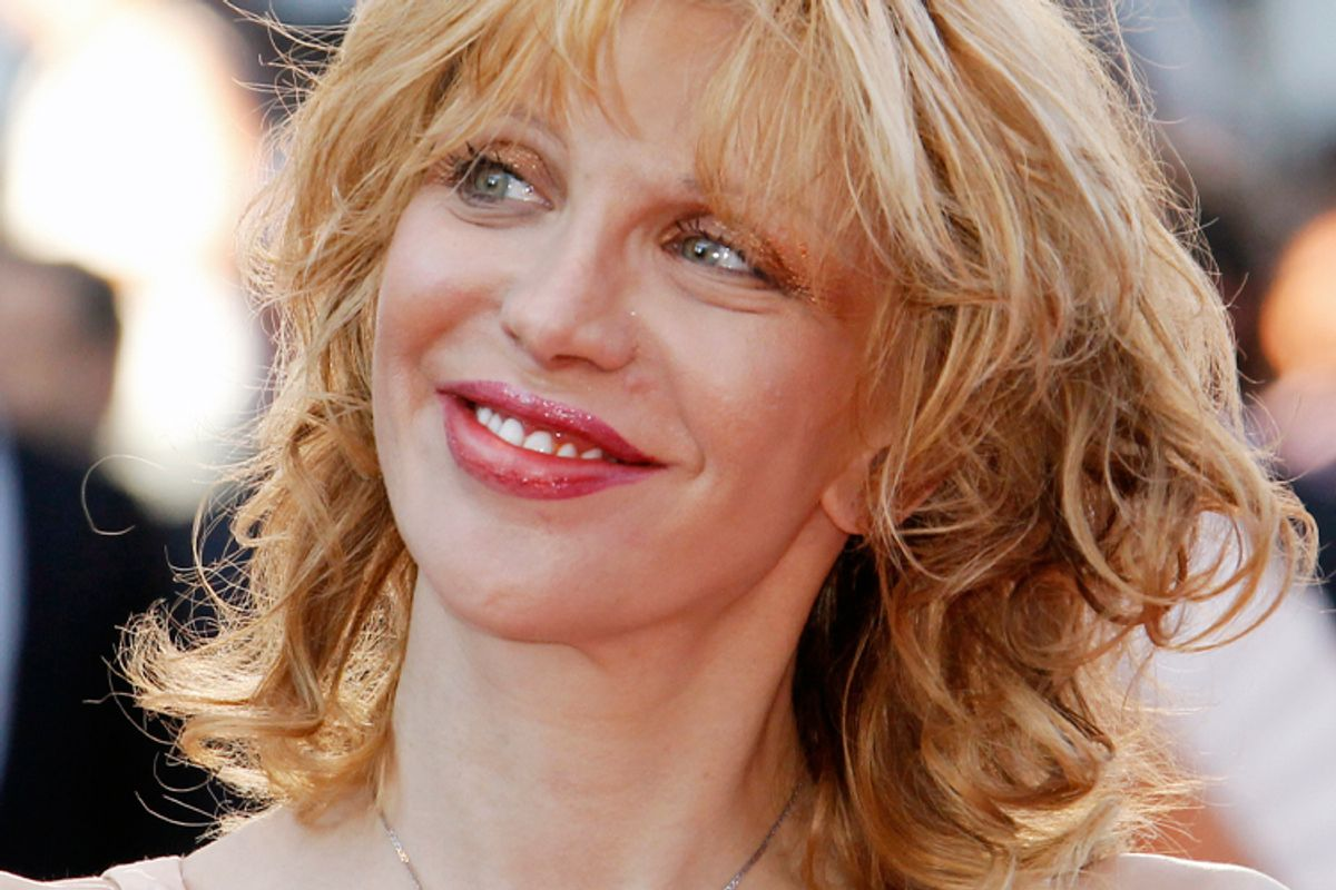 Courtney Love, back on Etsy...or has she never left?