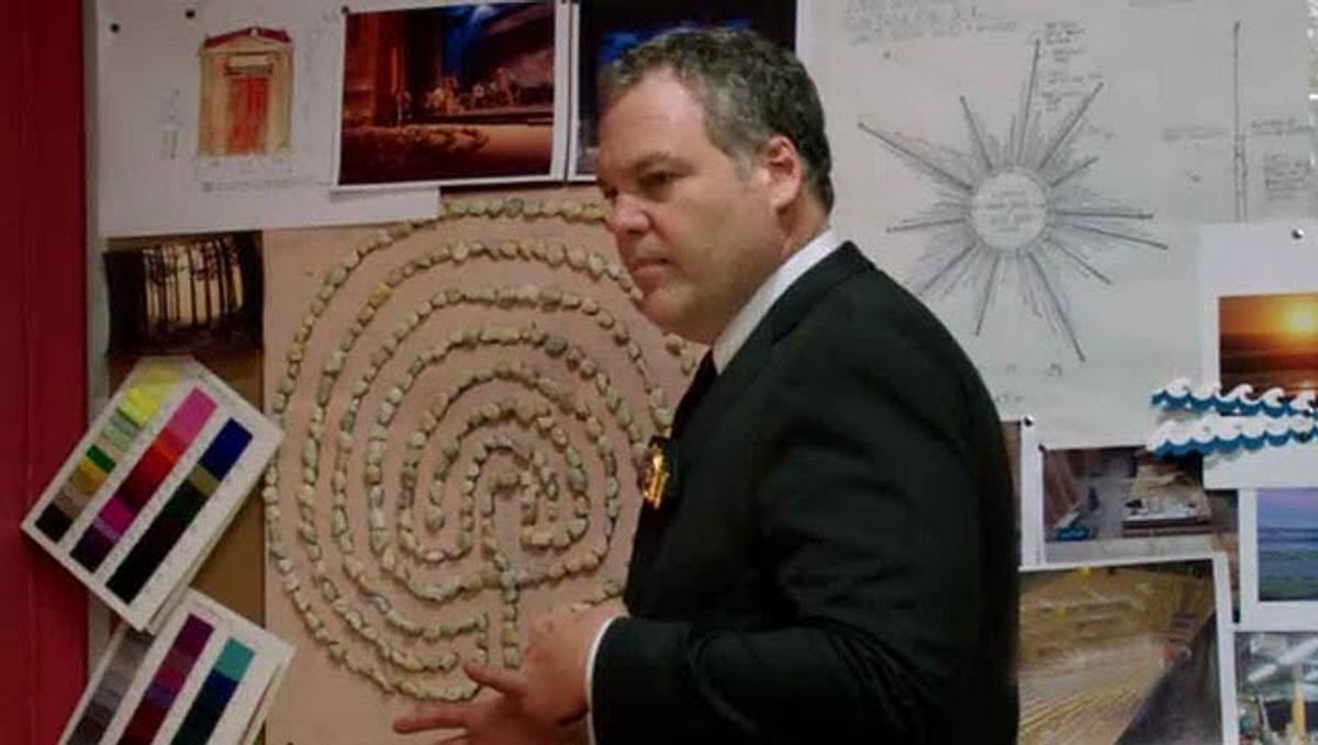 """Vincent D'onofrio on """"Law and Order: Criminal Intent."""""""