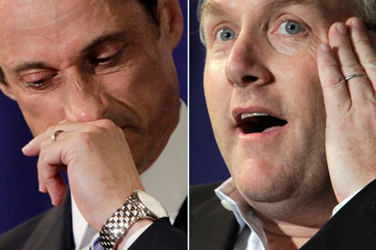 Anthony Weiner and Andrew Breitbart
