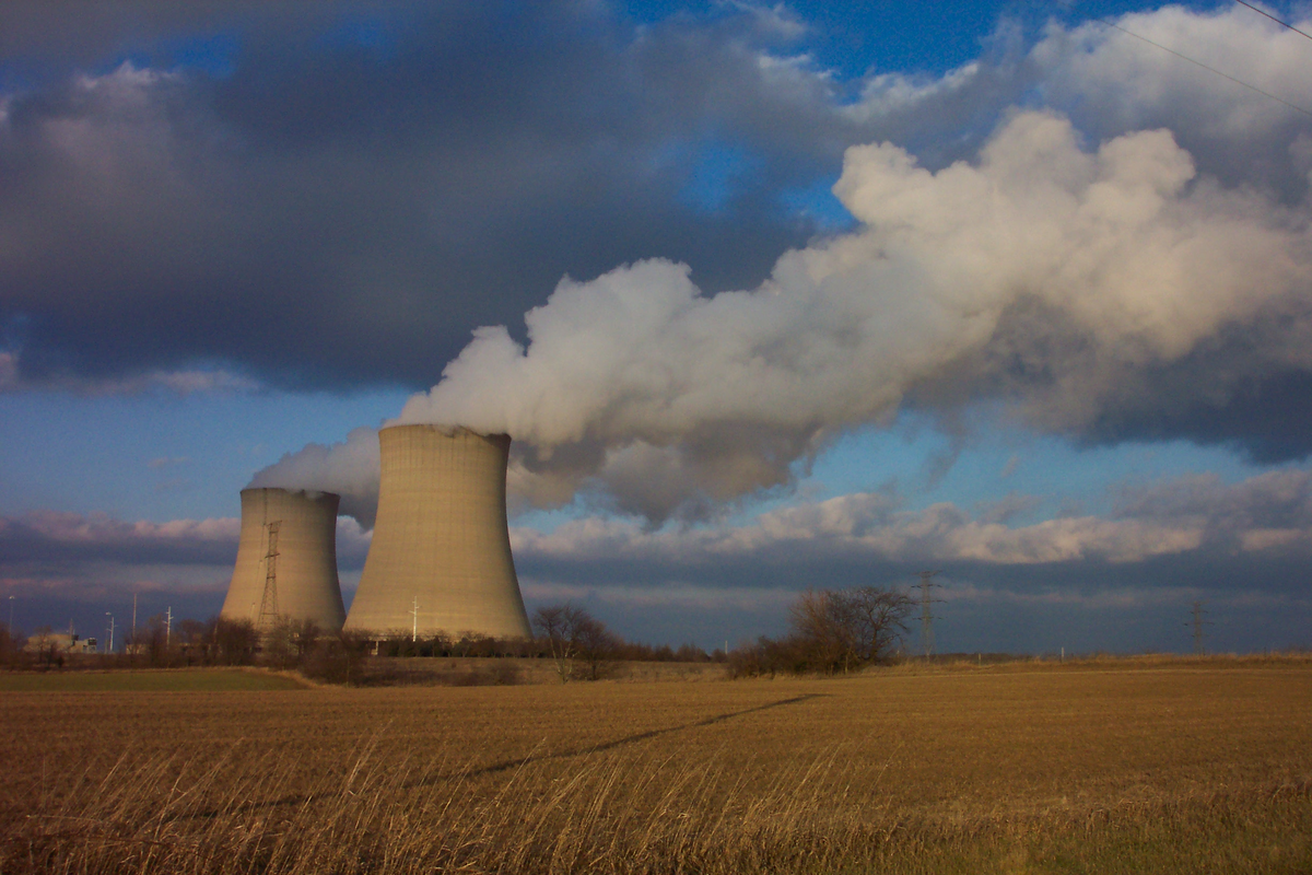 The Byron Nuclear Generating Station in Ogle County, Illinois