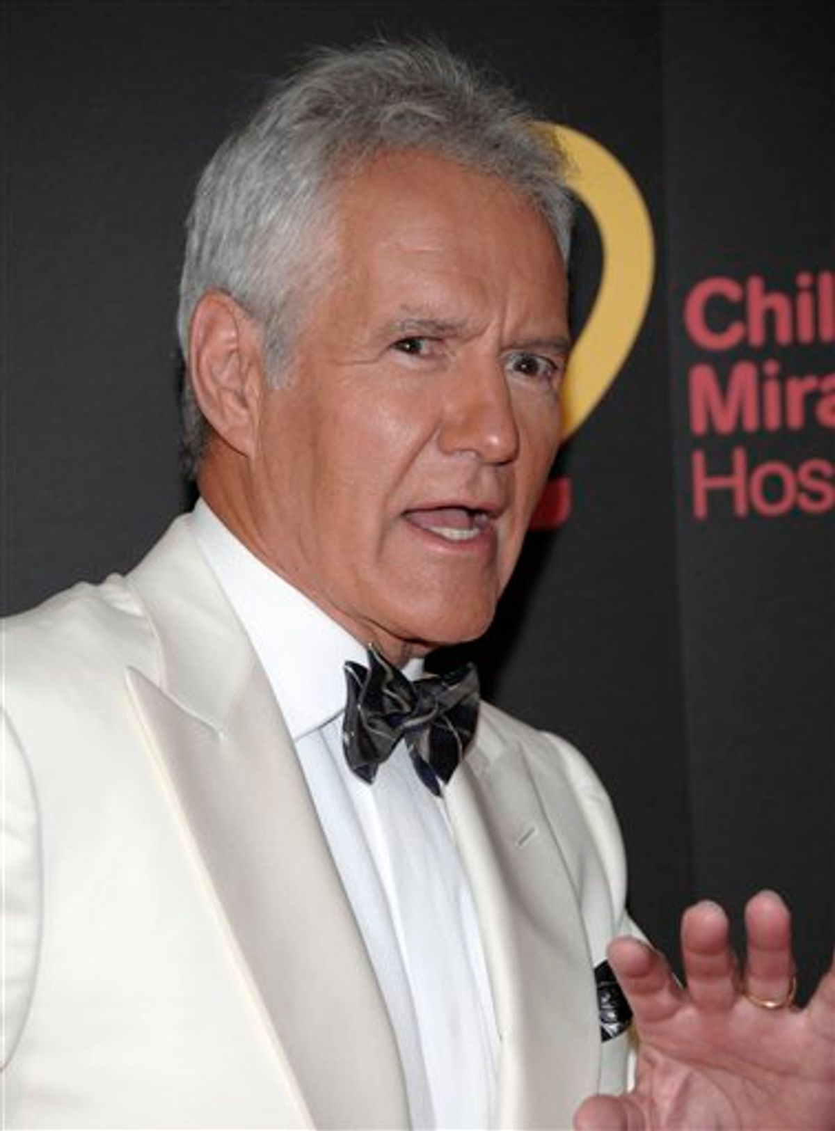 Television personality Alex Trebek arrives at the 38th Annual Daytime Emmy Awards in Las Vegas on Sunday, June 19, 2011. (AP Photo/Dan Steinberg)     (AP)