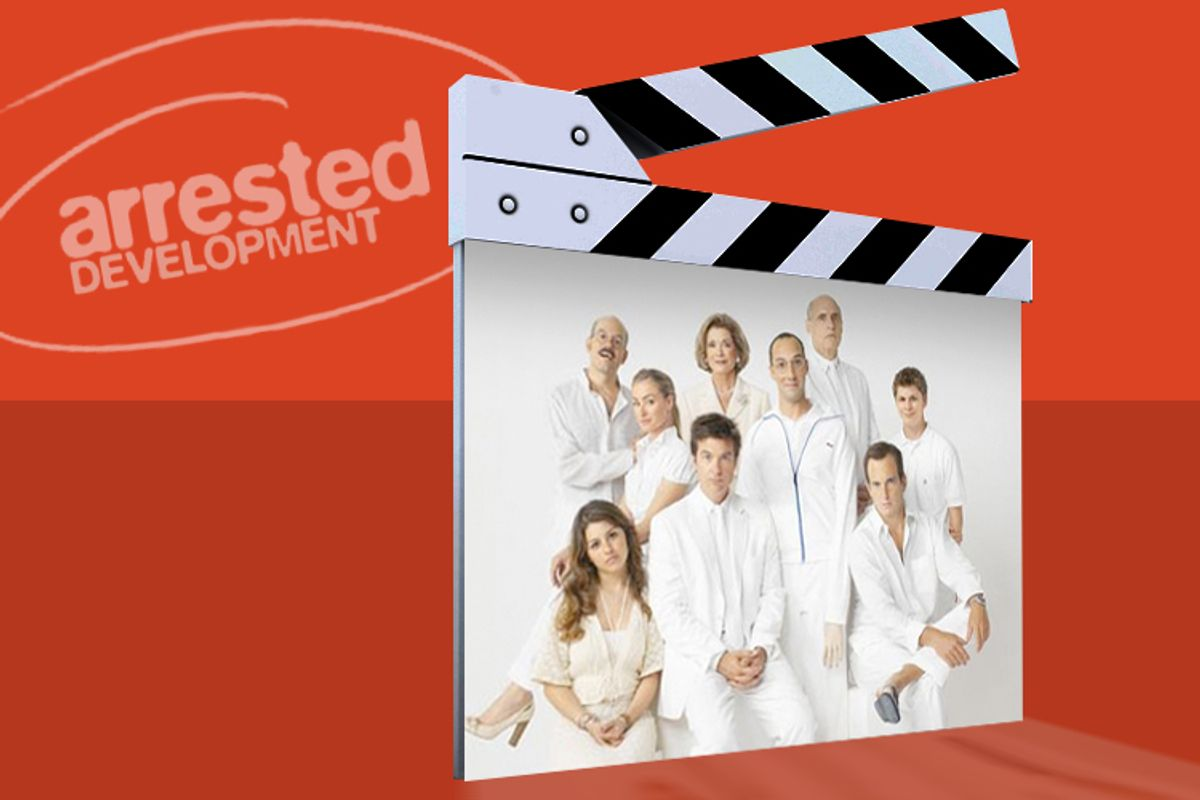 """Quit playing games with our hearts, """"Arrested Development""""!"""