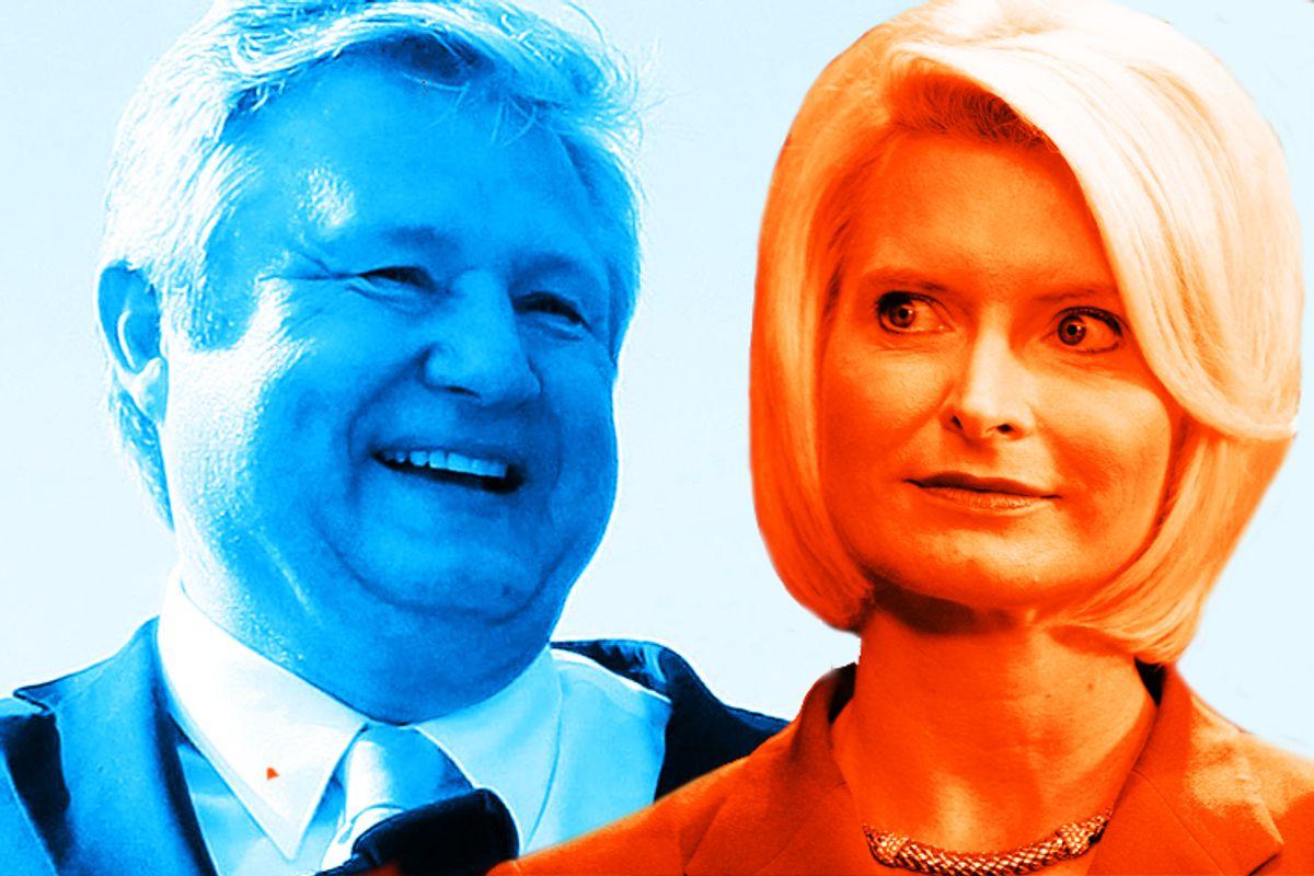 Marcus Bachmann and Callista Gingrich