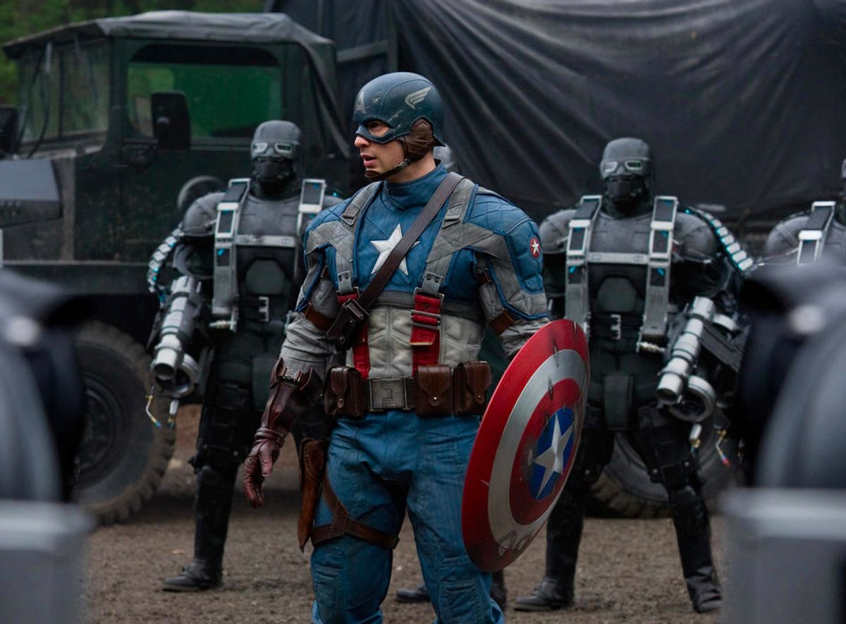"""A scene from """"Captain America: The First Avenger."""""""