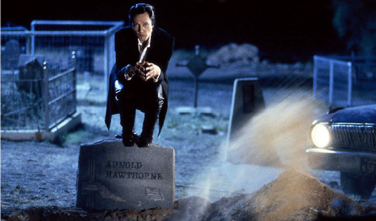 """Christopher Walken, owling in """"The Prophecy."""""""