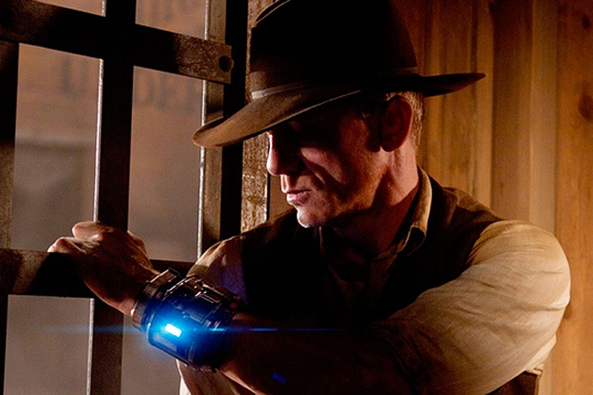 "Daniel Craig in ""Cowboys & Aliens"""