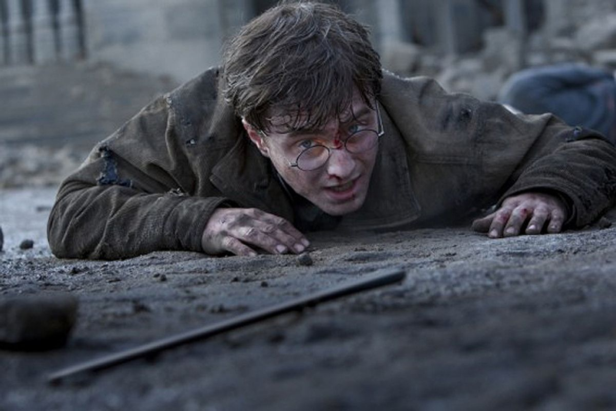 """Daniel Radcliffe in """"Harry Potter and the Deathly Hallows: Part 2"""""""