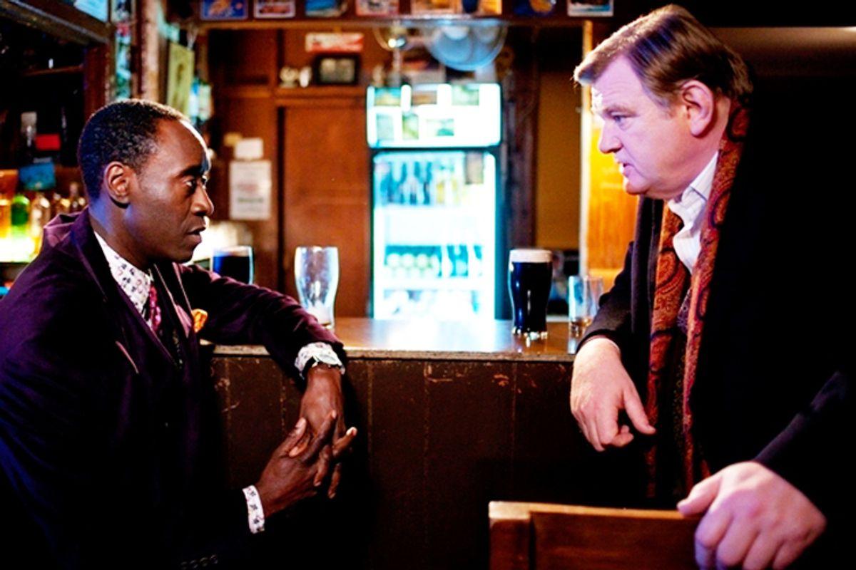 "Don Cheadle and Brendan Gleeson in ""The Guard"""