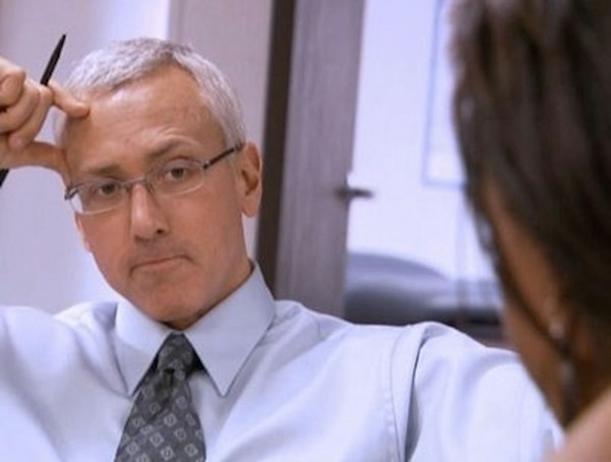 """Dr. Drew: possibly not the worst part of """"Celebrity Rehab."""""""