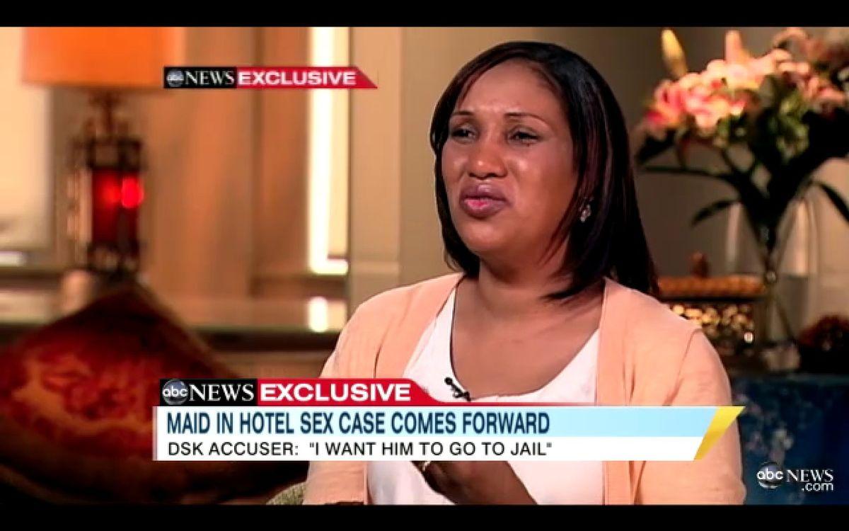 Nafissatou Diallo speaks to ABC News' Robin Roberts