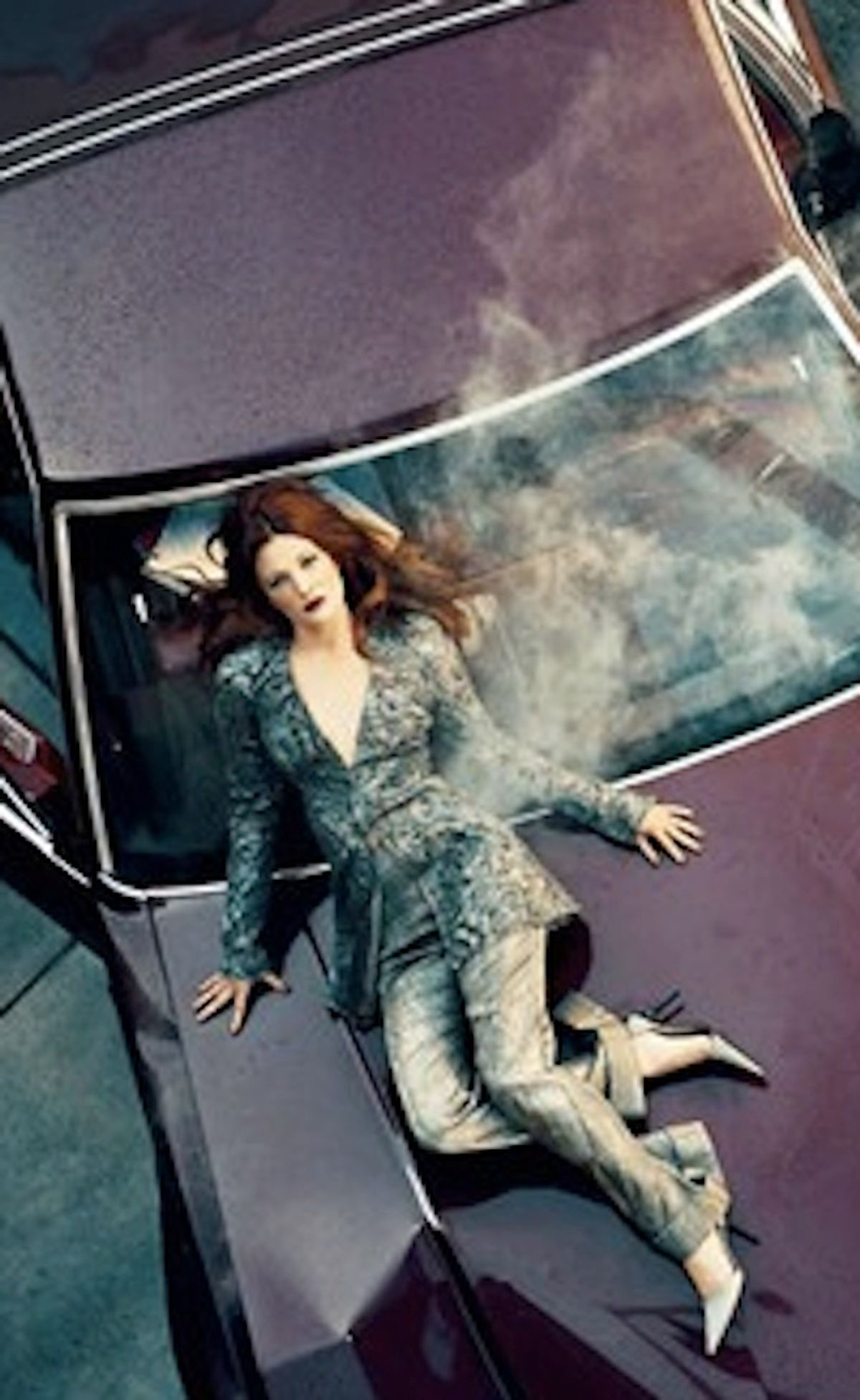 Is Drew Barrymore trying to tell us something with these new ads for Neiman Marcus?