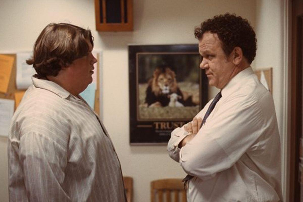 """Jacob Wysocki and John C. Reilly in """"Terri"""""""
