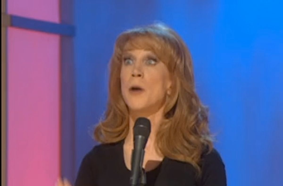 Kathy Griffin repeats Bachmann routine.
