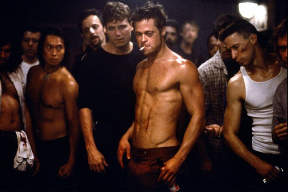 "Scene still from ""Fight Club"""