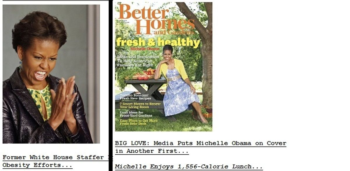 Two separate Drudge Report headlines, from July 11 and July 12