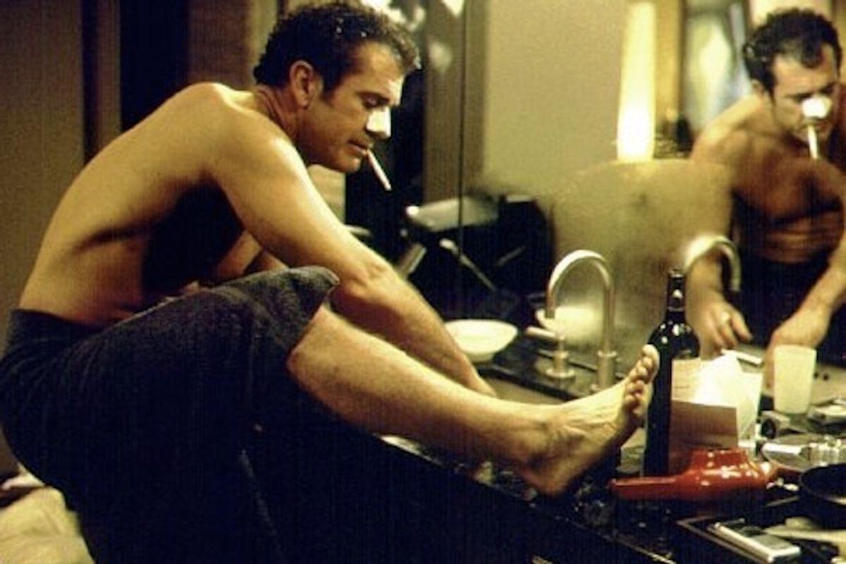 "Mel Gibson in ""What Women Want."""