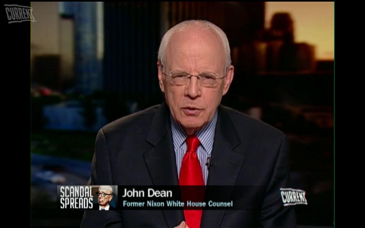 John Dean, former Nixon White House counsel