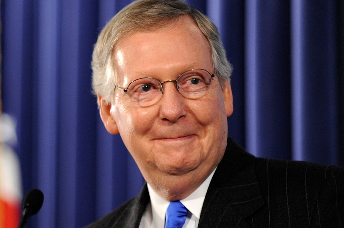 Mitch McConnell  (Jonathan Ernst / Reuters)