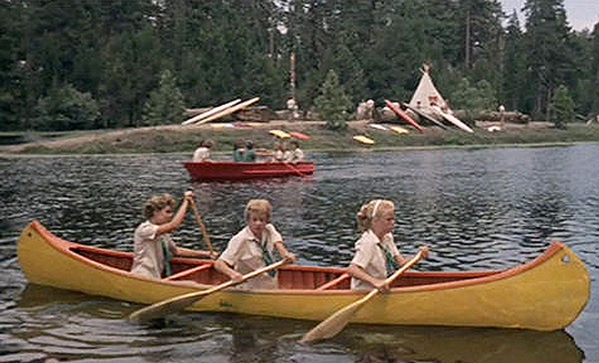 """A scene from 1961's """"The Parent Trap."""""""