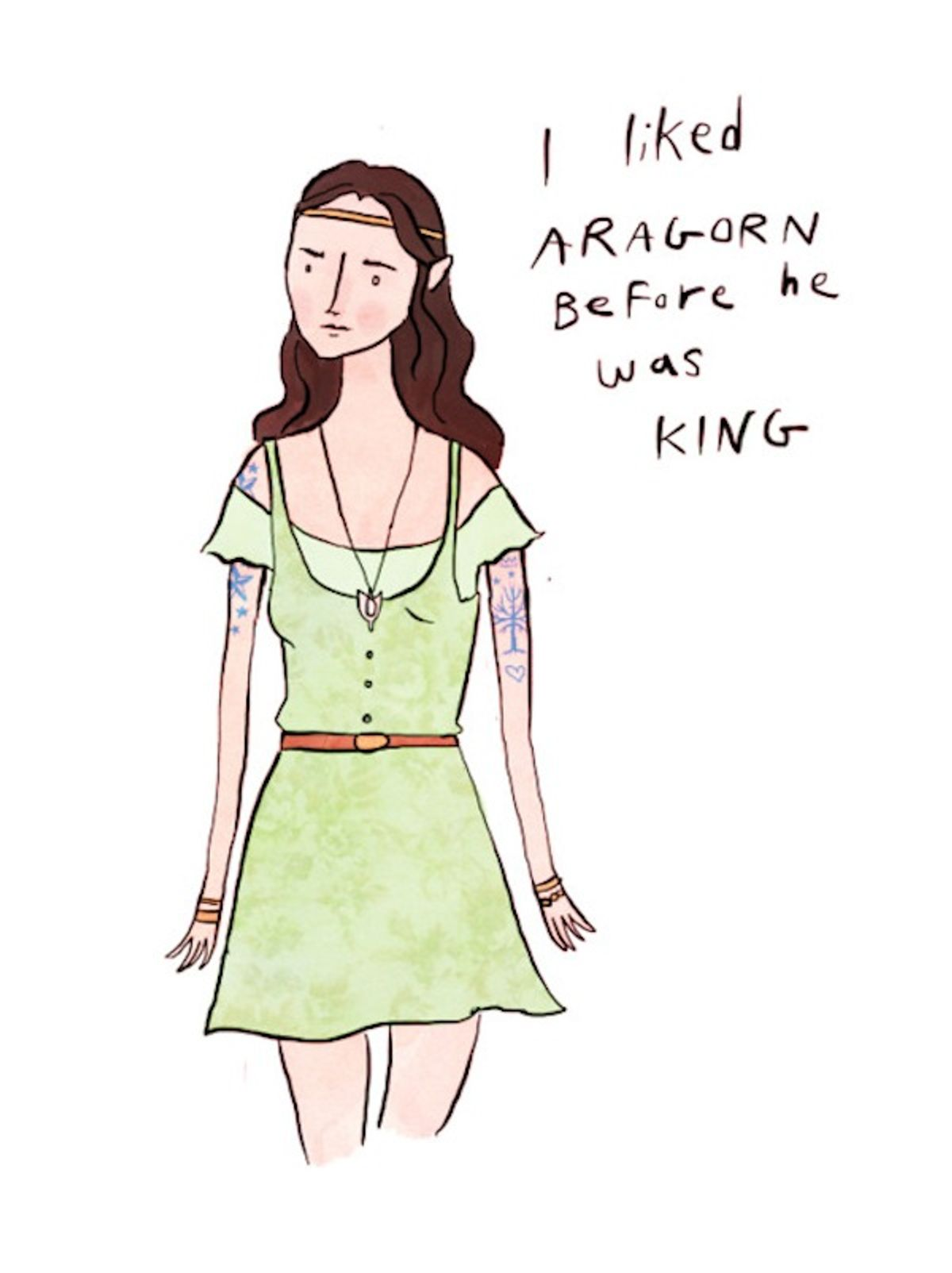 """""""The Broship of the Ring"""" by Noelle Stevenson."""