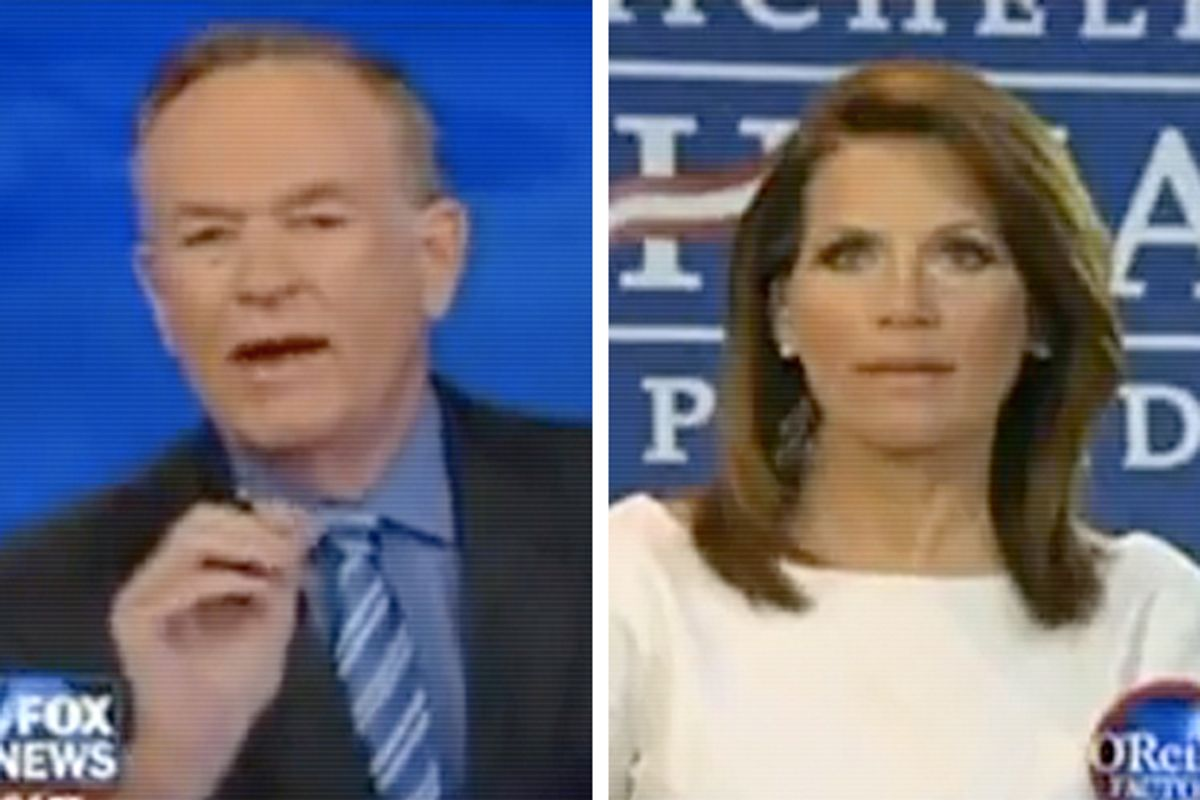 Bill O'Reilly and Rep. Michele Bachmann