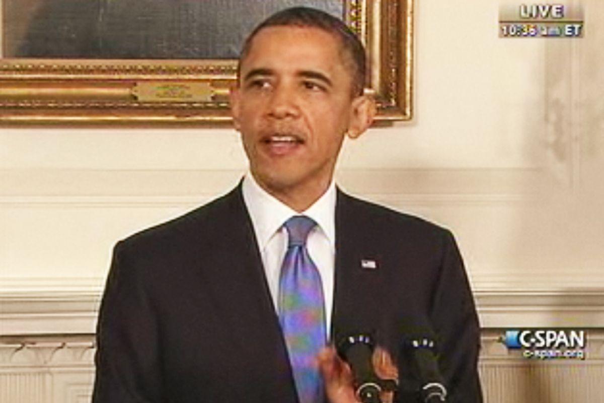 President Obama on Friday.
