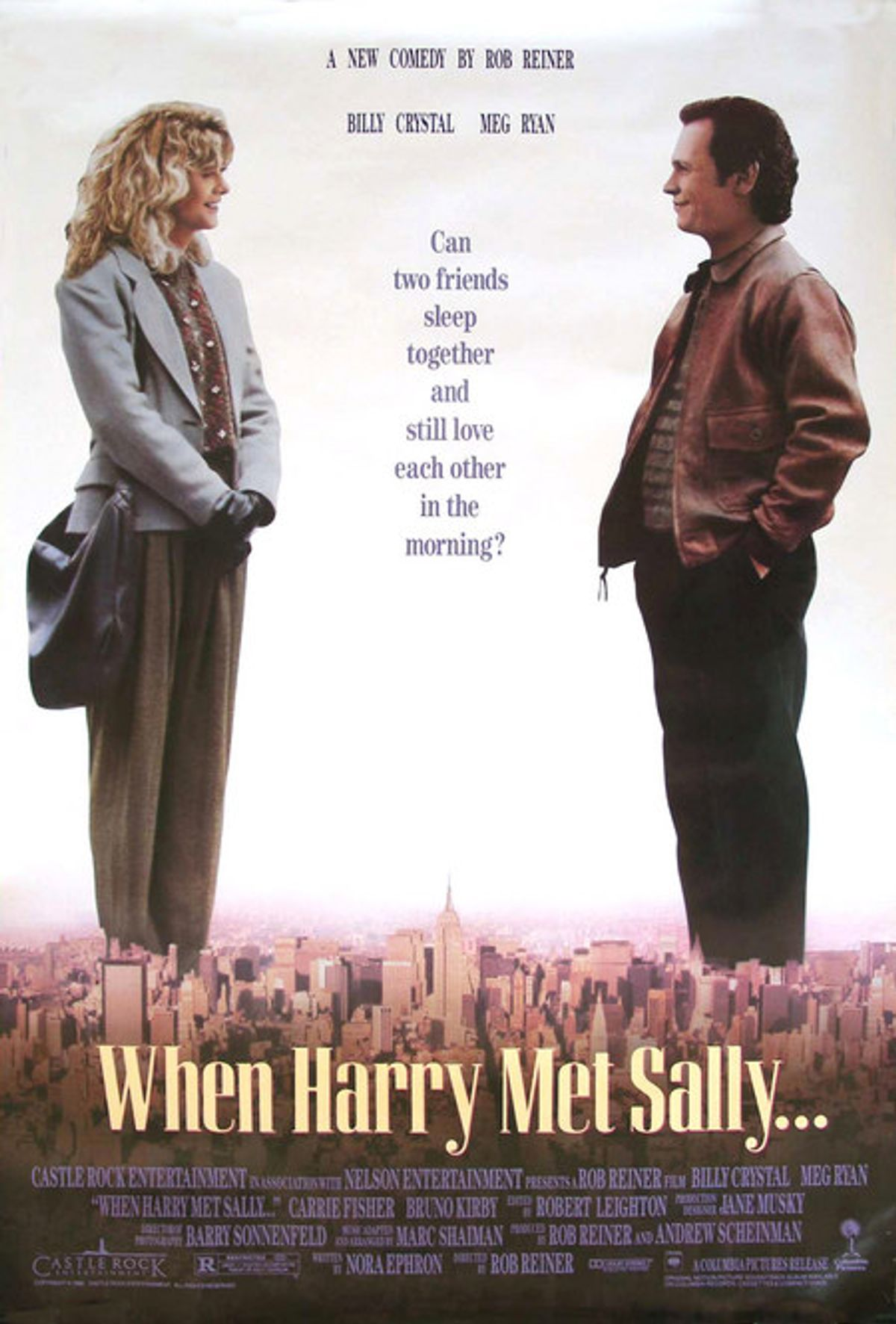 """Poster for """"When Harry Met Sally."""""""