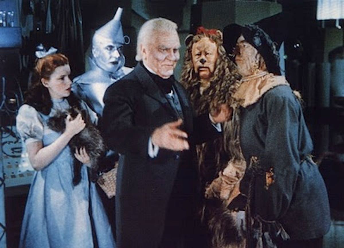 """""""The Wizard of Oz."""""""