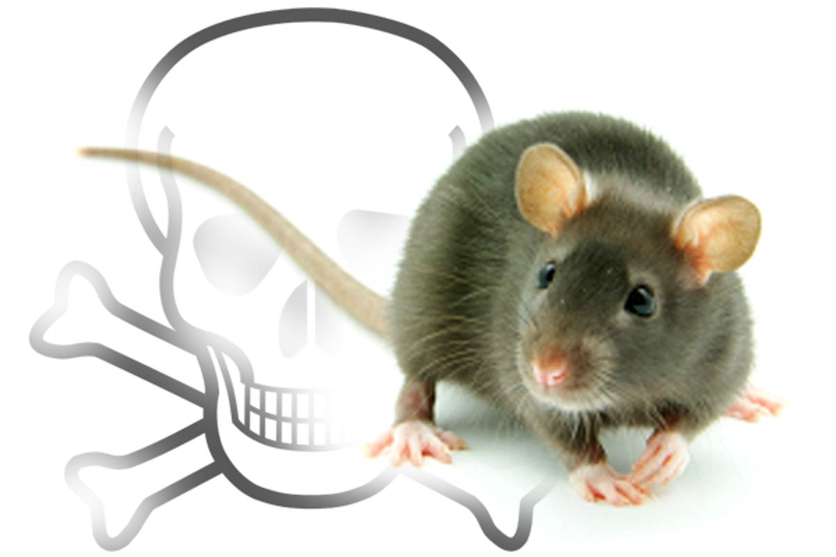 Mice with a new genetic mutation have muted the impact of once-deadly pesticides.